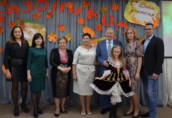 Праздничным концертом поздравили преподавателей и сотрудников Академии с Днём учителя!