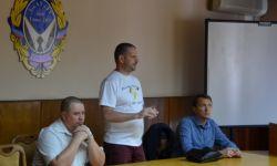 В Академии прошла встреча с депутатом НС ДНР Любомиром Пушкиным
