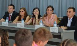 Собрание студенческого совета факультета ГСУ с первокурсниками
