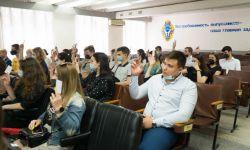 Состоялась отчётно-выборная конференция студенческого совета финансово-экономического факультета ГОУ ВПО «ДОНАУИГС»