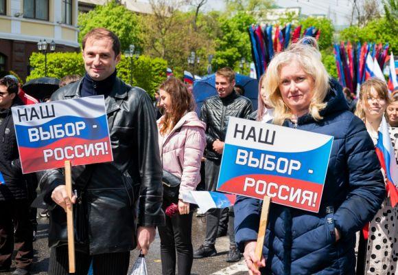 «Держим курс на единство всех русских!»: Денис Пушилин и гости из дружественных стран поздравили жителей страны с Днём Республики