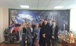 Экскурсия студентов-первокурсников в Музей МЧС