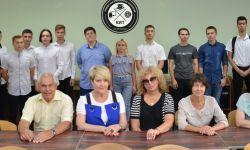 Вручение студенческих билетов бакалаврам кафедры информационных технологий!