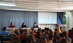 В Академии состоялась агитационная встреча студентов с представителями первичной организации ОО «Молодая Республика»